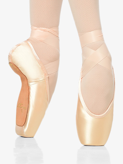 Girls Gaynor Minden pointe shoes